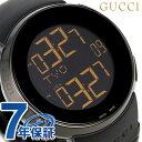 グッチ アイグッチ XL クオーツ メンズ 腕時計 YA114228 GUCCI オールブラック