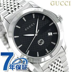 グッチ 時計 Gタイムレス 40mm メンズ 腕時計 YA1264106 GUCCI ブラック【あす楽対応】