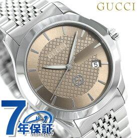 グッチ 時計 Gタイムレス 40mm メンズ 腕時計 YA1264107 GUCCI ブラウン【あす楽対応】