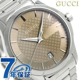 グッチ 時計 メンズ GUCCI 腕時計 Gタイムレス クオーツ YA126445 ブラウン【あす楽対応】
