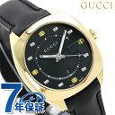 グッチ GUCCI レディース 腕時計 GG2570 コレクション ミディアム 37mm YA142408 ブラック 革ベルト 時計