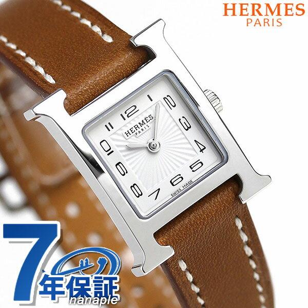 【今ならショッパー プレゼント♪】037961WW00 エルメス Hウォッチ ミニ 17mm スイス製 レディース HERMES 腕時計 新品