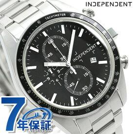 【今なら店内ポイント最大44倍】 インディペンデント メンズ 腕時計 スポーティ クロノグラフ BA7-115-51 INDEPENDENT ブラック 時計【あす楽対応】