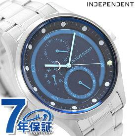 【今なら店内ポイント最大44倍】 インディペンデント ソーラー メンズ 腕時計 限定モデル KB1-210-75 INDEPENDENT ムーンコレクション ネイビー 時計【あす楽対応】