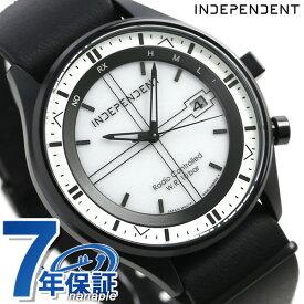 【今なら店内ポイント最大44倍】 インディペンデント タイムレスライン 41mm 電波ソーラー KL8-643-10 INDEPENDENT 腕時計 シルバー×ブラック 時計【あす楽対応】