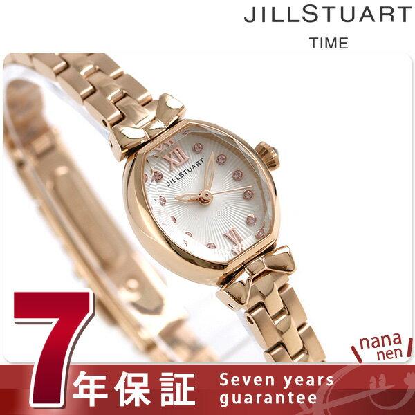 【当店なら!さらにポイント+4倍!21日1時59分まで】 ジルスチュアート トノーリボン クオーツ レディース NJAL001 JILL STUART 腕時計 ホワイト 時計