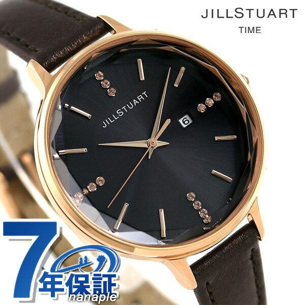【エントリーだけでポイント13倍 27日9:59まで】 ジル スチュアート シンプルソーラー 34mm レディース NJAT001 JILL STUART 腕時計 時計