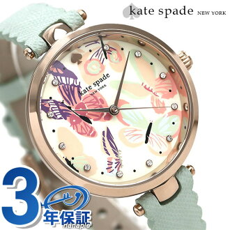 Kate spade clock Lady's KATE SPADE NEW YORK watch Holland 34mm butterfly KSW1414