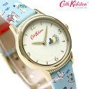 キャスキッドソン Cath Kidston ドッグス 30mm CKL011UG レディース 腕時計