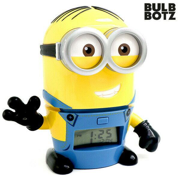 目覚まし時計 子供 キャラクター おしゃべり ミニオンズ デイブ デジタル クロック 怪盗グルー 2021241 時計【あす楽対応】