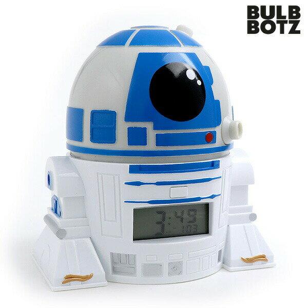 目覚まし時計 子供 キャラクター スターウォーズ 最後のジェダイ R2-D2 クロック 2021401 STAR WARS【あす楽対応】