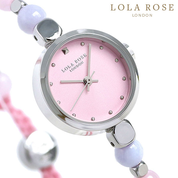 【当店なら!さらにポイント+4倍!21日1時59分まで】 ローラローズ フレンドシップ ブレスレット レディース 腕時計 LR4017 ピンク Lola Rose