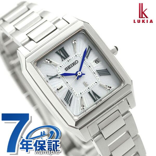 【ノベルティ付き♪】セイコー レディルキア 電波ソーラー レディース 腕時計 SSVW097 SEIKO LUKIA ルキア 時計【あす楽対応】