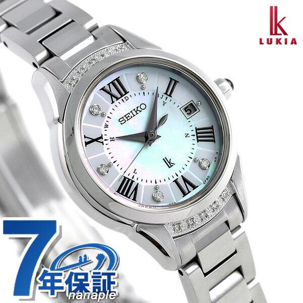 【ノベルティ付き♪】セイコー ルキアヤセ 綾瀬はるか 限定モデル レディース 腕時計 SSVW115 SEIKO LUKIA 時計【あす楽対応】