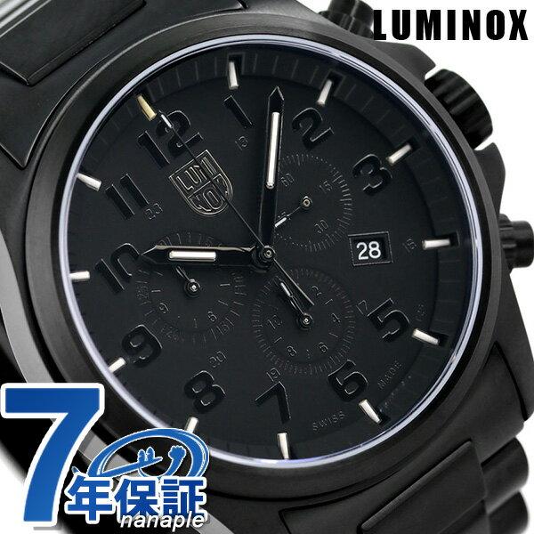 ルミノックス 1940シリーズ 腕時計 LUMINOX アタカマフィールド クロノグラフ 1942.BOB ブラックアウト