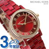 Michael Kors clock Lady's red MK3896 MICHAEL KORS petit Norie 28mm watch