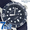Nautica NSR100 quartz men watch A11601G NAUTICA navy