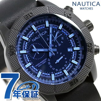 e468abc2658b nanaple  Nautica NST11 chronograph watch NAD17524G NAUTICA blue X ...