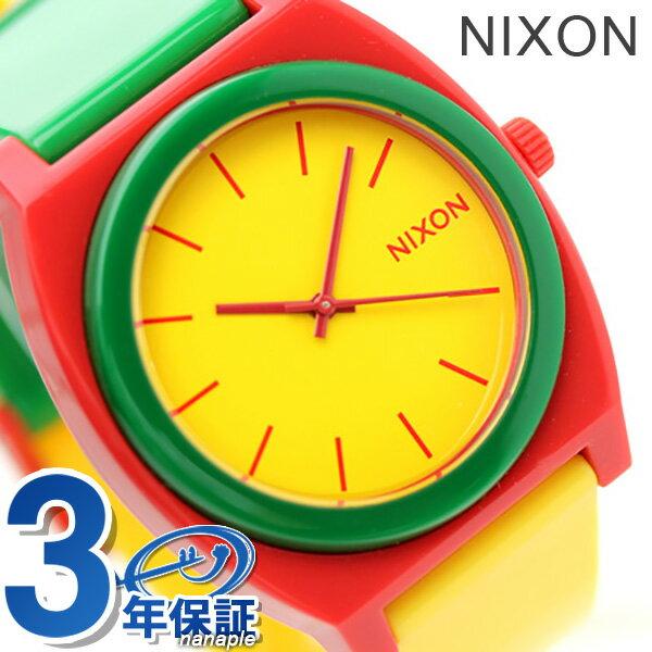 ニクソン A1191114 nixon ニクソン 腕時計 タイムテラー ピー ラスタ 時計【あす楽対応】