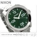 ニクソン A3461696 nixon ニクソン コーポラルSS メンズ 腕時計 グリーンサンレイ