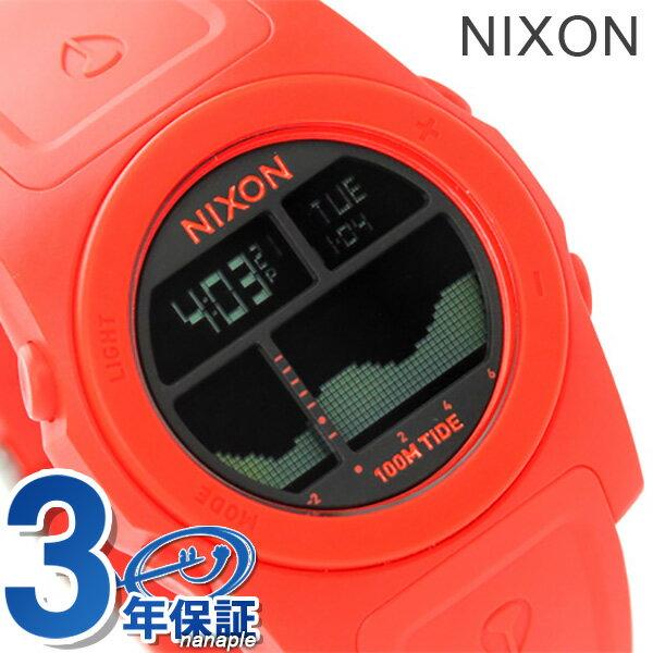 ニクソン 腕時計 メンズ nixon A3851156 リズム ネオンオレンジ 時計