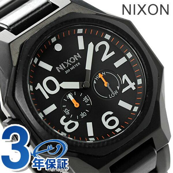 ニクソン 腕時計 メンズ nixon A397001 タンジェント 20気圧防水 オールブラック 時計