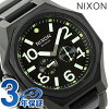 Nixon A3971042 nixon Nixon tangent 20 standard atmosphere waterproofing men watch mat black / surplus