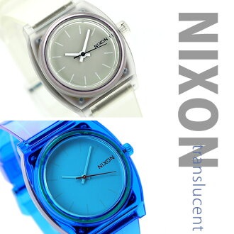 The model who can choose Nixon TRANSLUCENT nixon Nixon thyme Teller P watch trance Lucent