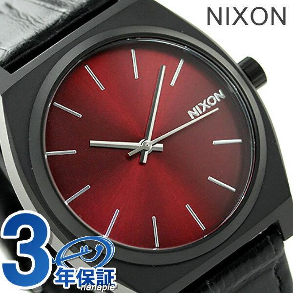 ニクソン 腕時計 nixon タイムテラー A0451886 クオーツ ブラックゲーター