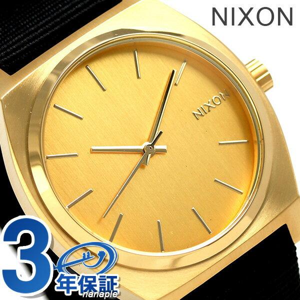 ニクソン 腕時計 nixon タイムテラー A045513 ゴールド/ブラック 時計