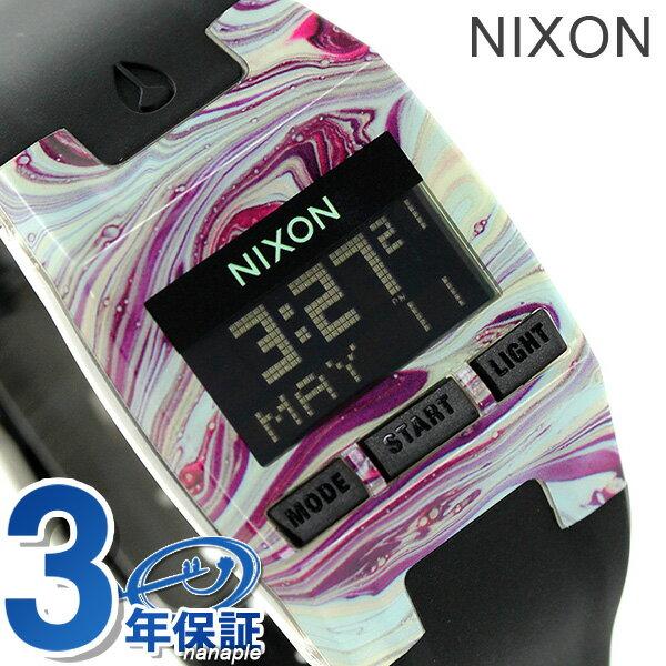 ニクソン 腕時計 レディース nixon A3362151 コンプ S マーブルドマルチ/ブラック