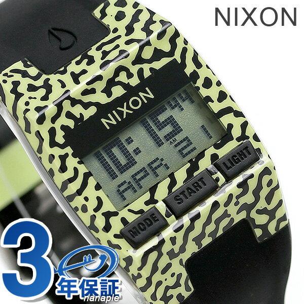ニクソン 腕時計 レディース クロノグラフ nixon A3362155 コンプ S ネオン/イエロー/アメーバ 時計【あす楽対応】