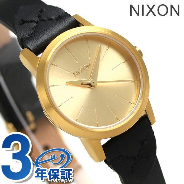 ニクソン 腕時計 レディース nixon A3982143 ケンジ レザー ゴールド/ブライドル