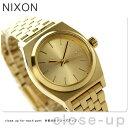 ニクソン A399502 nixon ニクソン スモール タイム テラー レディース 腕時計 オールゴールド