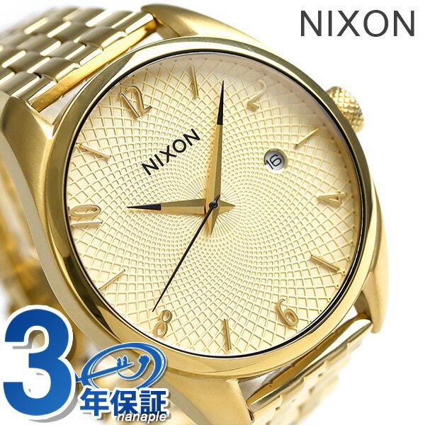 ニクソン 腕時計 レディース nixon A418502 ブレット オールゴールド 時計【あす楽対応】