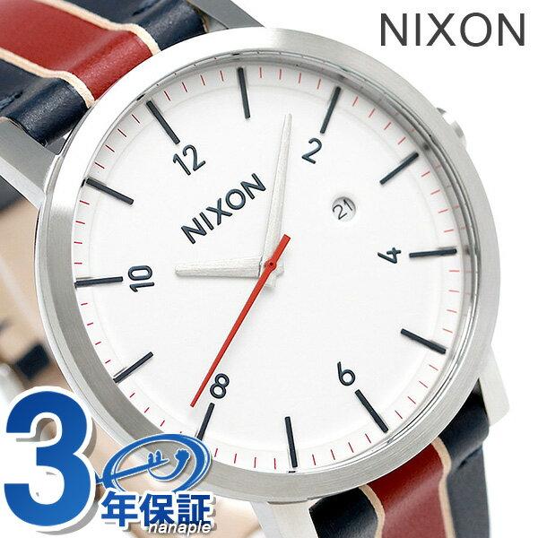 【さらに!ポイント+2倍 24日9時59分まで】ニクソン 腕時計 メンズ nixon A9451854 ロロ クオーツ ホワイト/ストライプ 時計【あす楽対応】