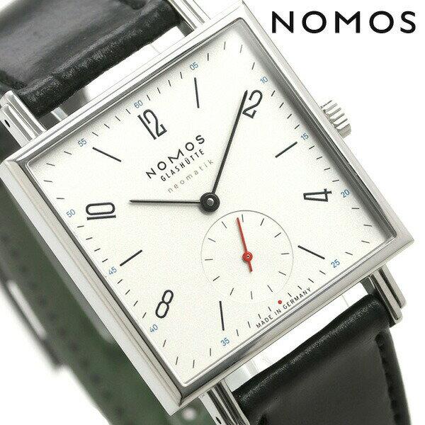 ノモス NOMOS ドイツ製 自動巻き 421 テトラ ネオマティック 39mm メンズ 腕時計 TT130011W2 シルバー×ブラック 時計【あす楽対応】