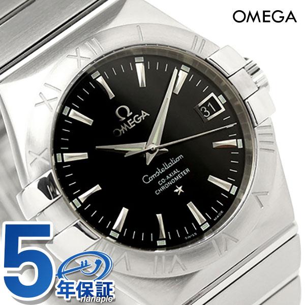 オメガ 腕時計 自動巻き コンステレーション クロノメーター 35MM メンズ ブラック OMEGA 123.10.35.20.01.001 新品 時計【あす楽対応】