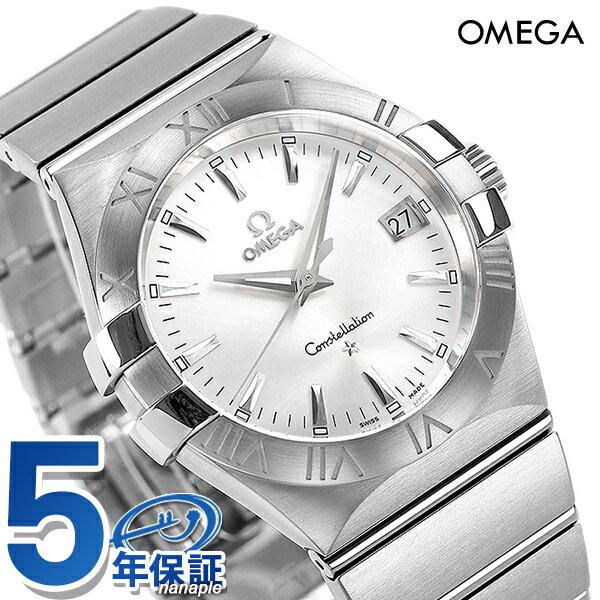 【10000円割引クーポン 20日9時59分まで】 オメガ OMEGA メンズ 腕時計 コンステレーション ローマ数字 シルバー 123.10.35.60.02.001 新品 時計