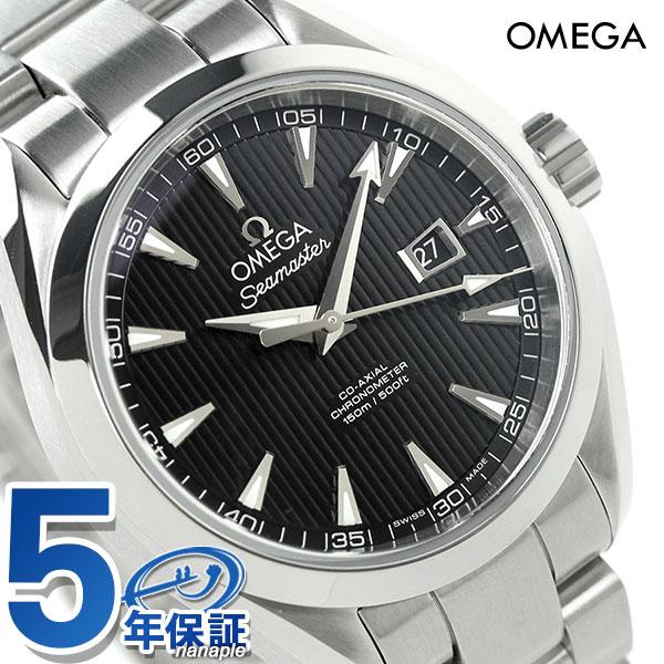 オメガ シーマスター アクアテラ 34mm 自動巻き 腕時計 231.10.34.20.01.001 OMEGA ブラック