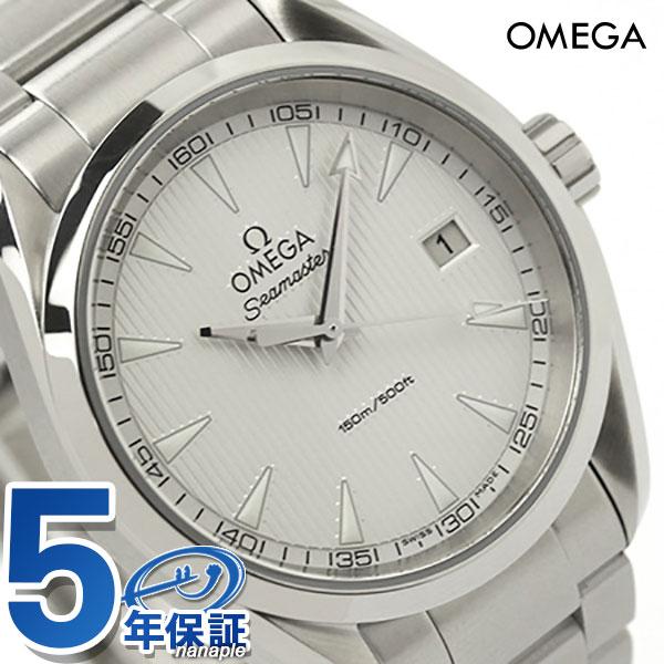 オメガ 腕時計 シーマスター アクアテラ 38.5MM メンズ デイト ホワイト OMEGA 231.10.39.60.02.001 新品 時計
