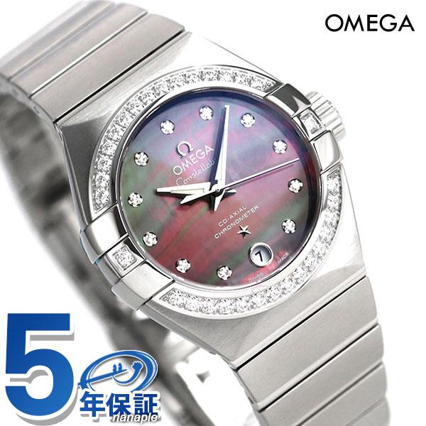 オメガ コンステレーション タヒチ 自動巻き レディース 腕時計 123.15.27.20.57.003 OMEGA グレーシェル【あす楽対応】
