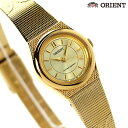 オリエント ORIENT 腕時計 海外モデル レディース クオーツ FUB3R007C ゴールド 【あす楽対応】