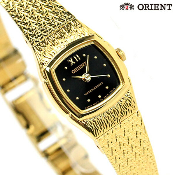 オリエント 腕時計 ORIENT 海外モデル ブラック × ゴールド FUBLR005B 時計