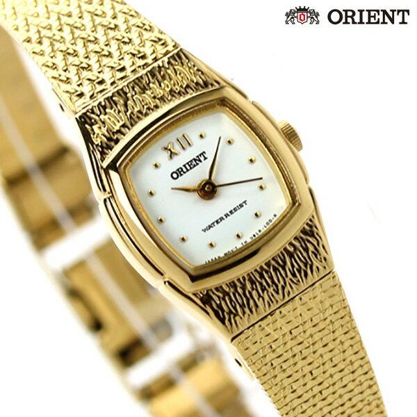 オリエント ORIENT 腕時計 海外モデル レディース クオーツ FUBLR005W ホワイト×ゴールド 時計【あす楽対応】