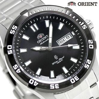 东方返销进口海外型号日本制造自动卷手表SEM7C007BC ORIENT黑色