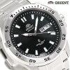 東方返銷進口海外型號日本製造自動卷手錶SEM7C008BC ORIENT黑色