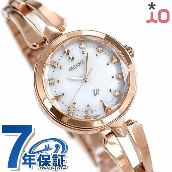 オリエント 腕時計 レディース ORIENT イオ スイートジュエリー iO WI0101SD 電波ソーラー 時計