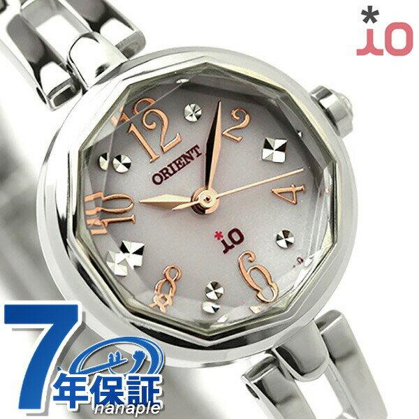 オリエント 腕時計 レディース ORIENT イオ スイートジュエリー2 iO WI0171WD ソーラー 時計【あす楽対応】