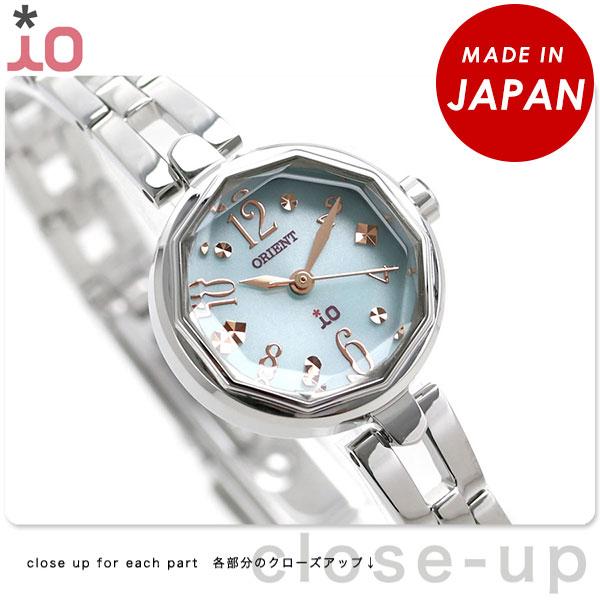 オリエント 腕時計 レディース ORIENT イオ スイートジュエリー2 iO WI0181WD ソーラー 時計